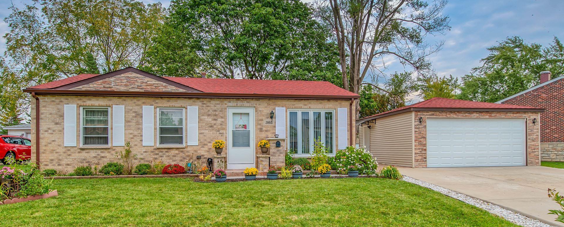 305 Ridge Circle, Streamwood, IL 60107 - #: 11244586