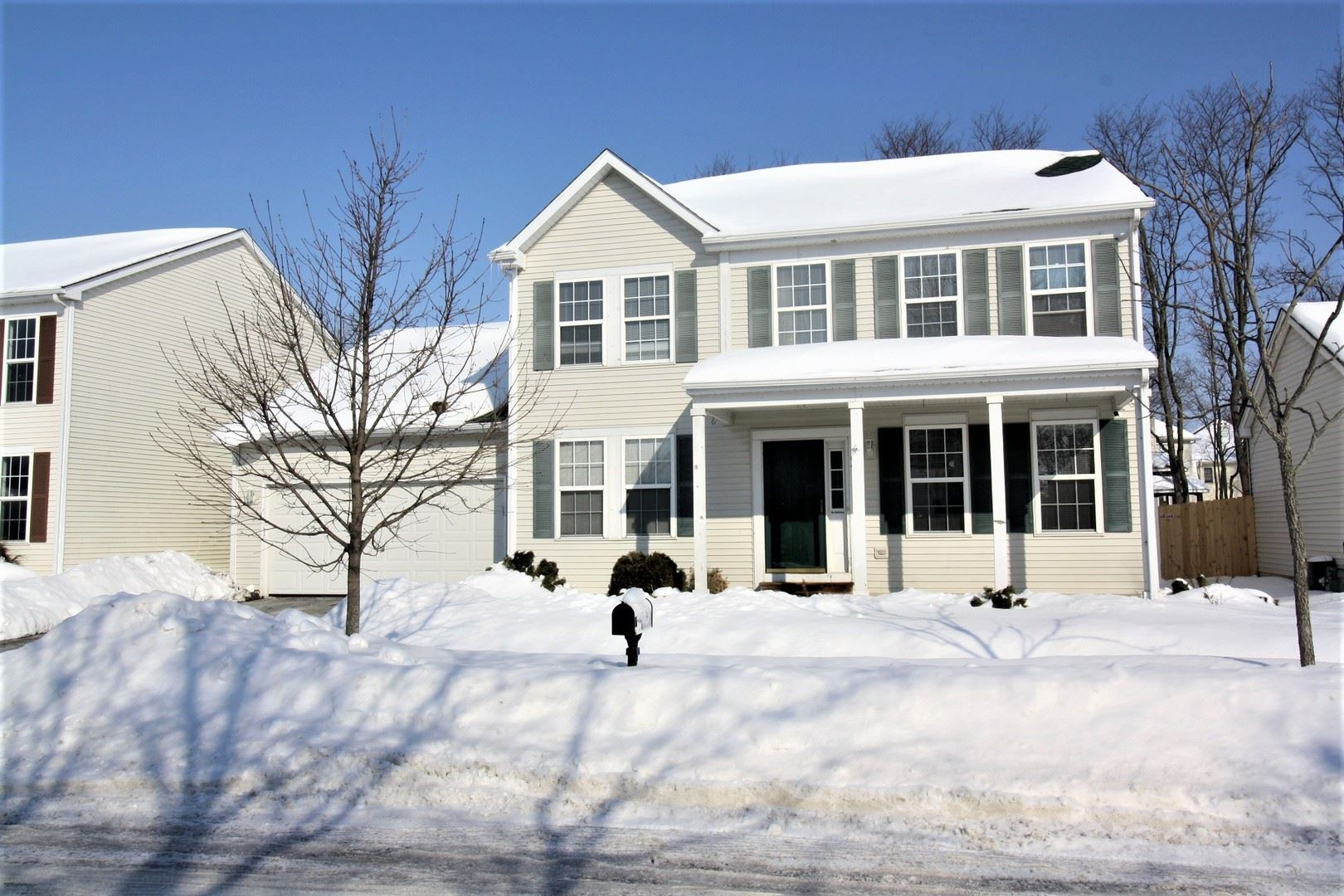 Photo of 704 Hoover Drive, Oswego, IL 60543 (MLS # 10999587)