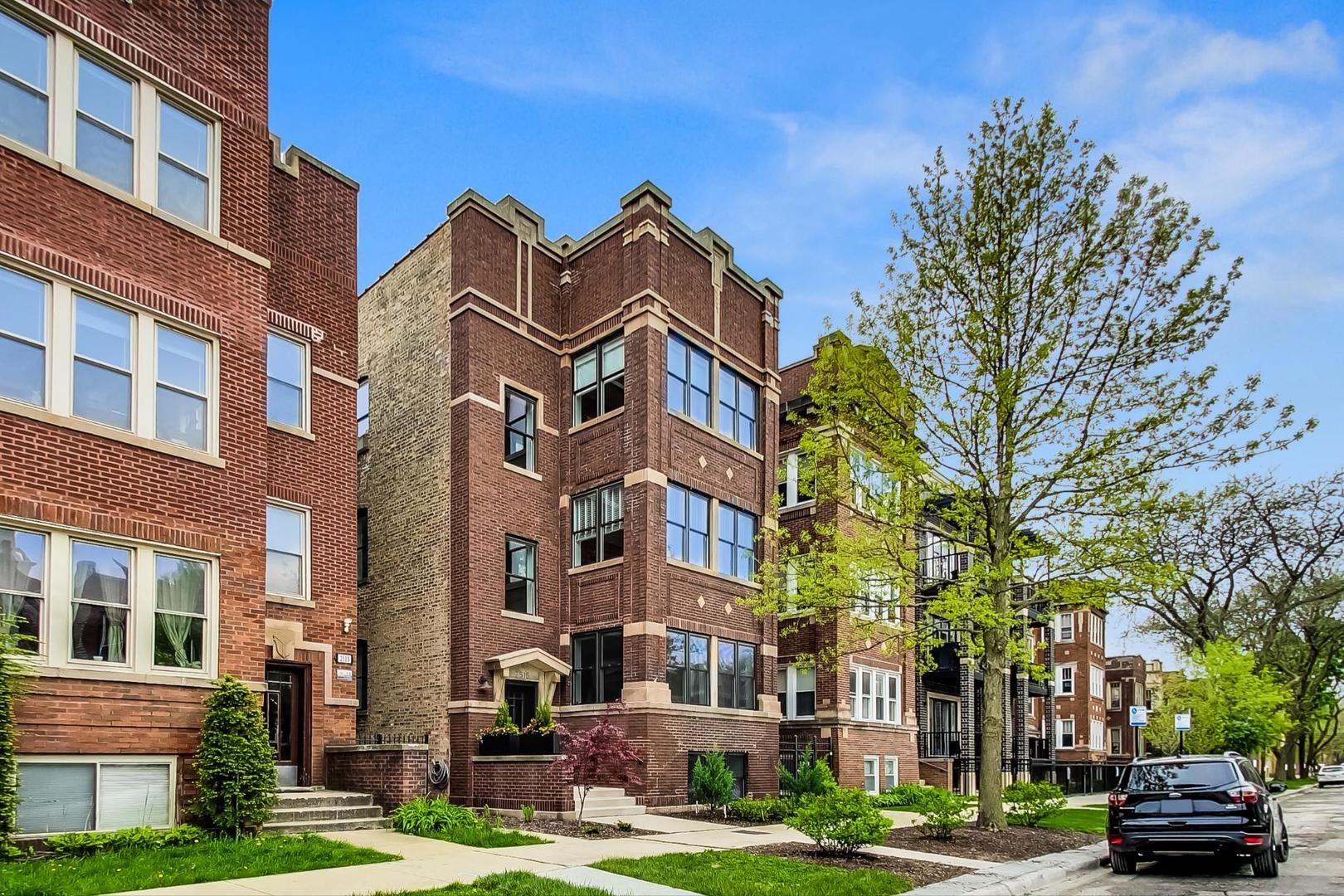 2515 W Gunnison Street #3, Chicago, IL 60625 - #: 10755592