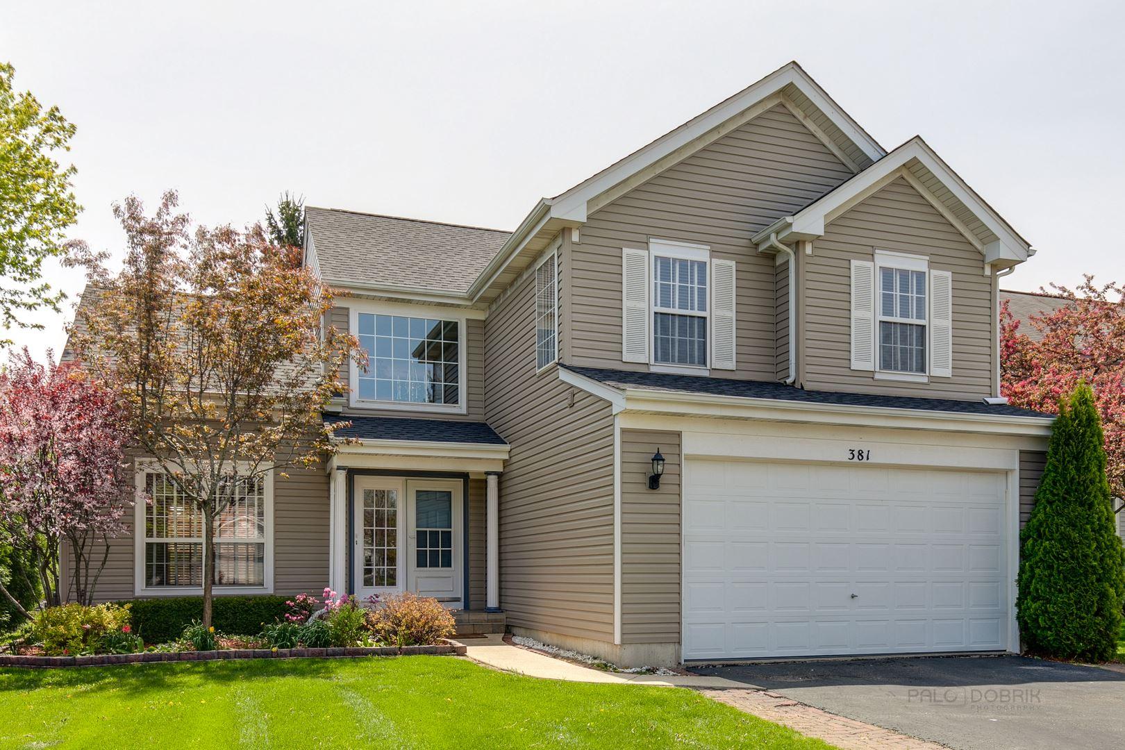 381 W Boxwood Court, Round Lake, IL 60073 - #: 10665593