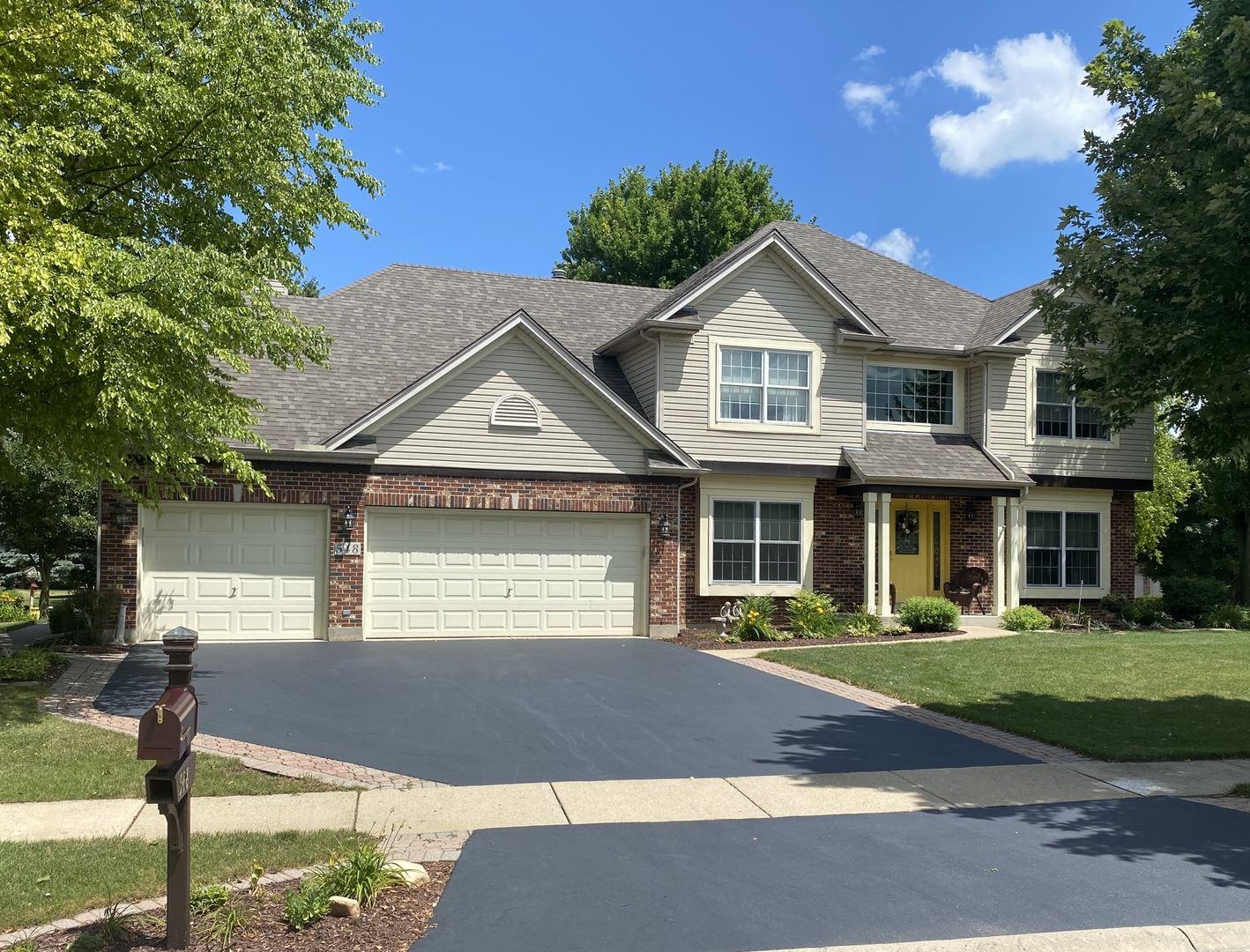 548 Arbor Lane, Oswego, IL 60543 - #: 10783597