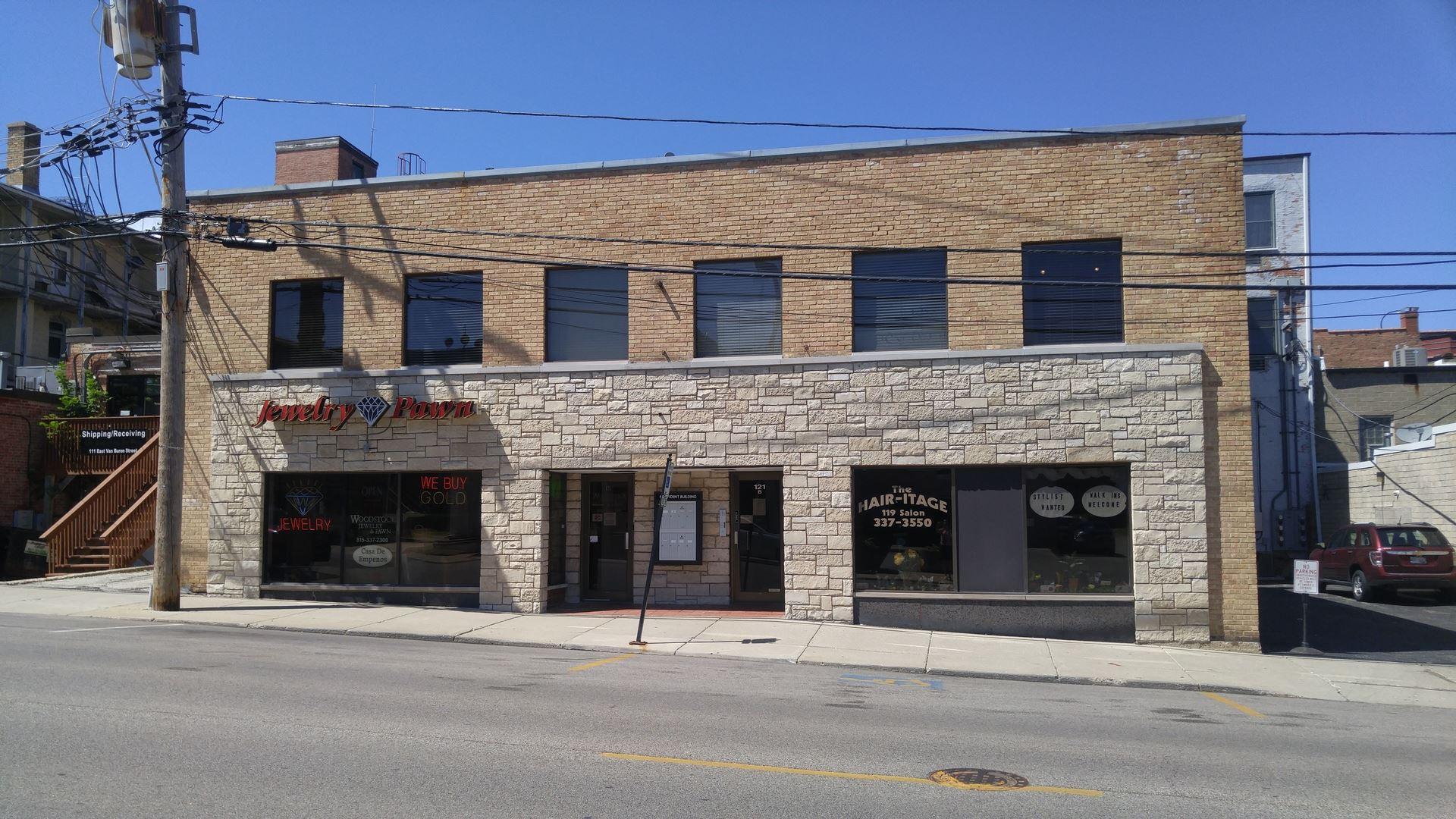 121 E Calhoun Street #F, Woodstock, IL 60098 - #: 10318601