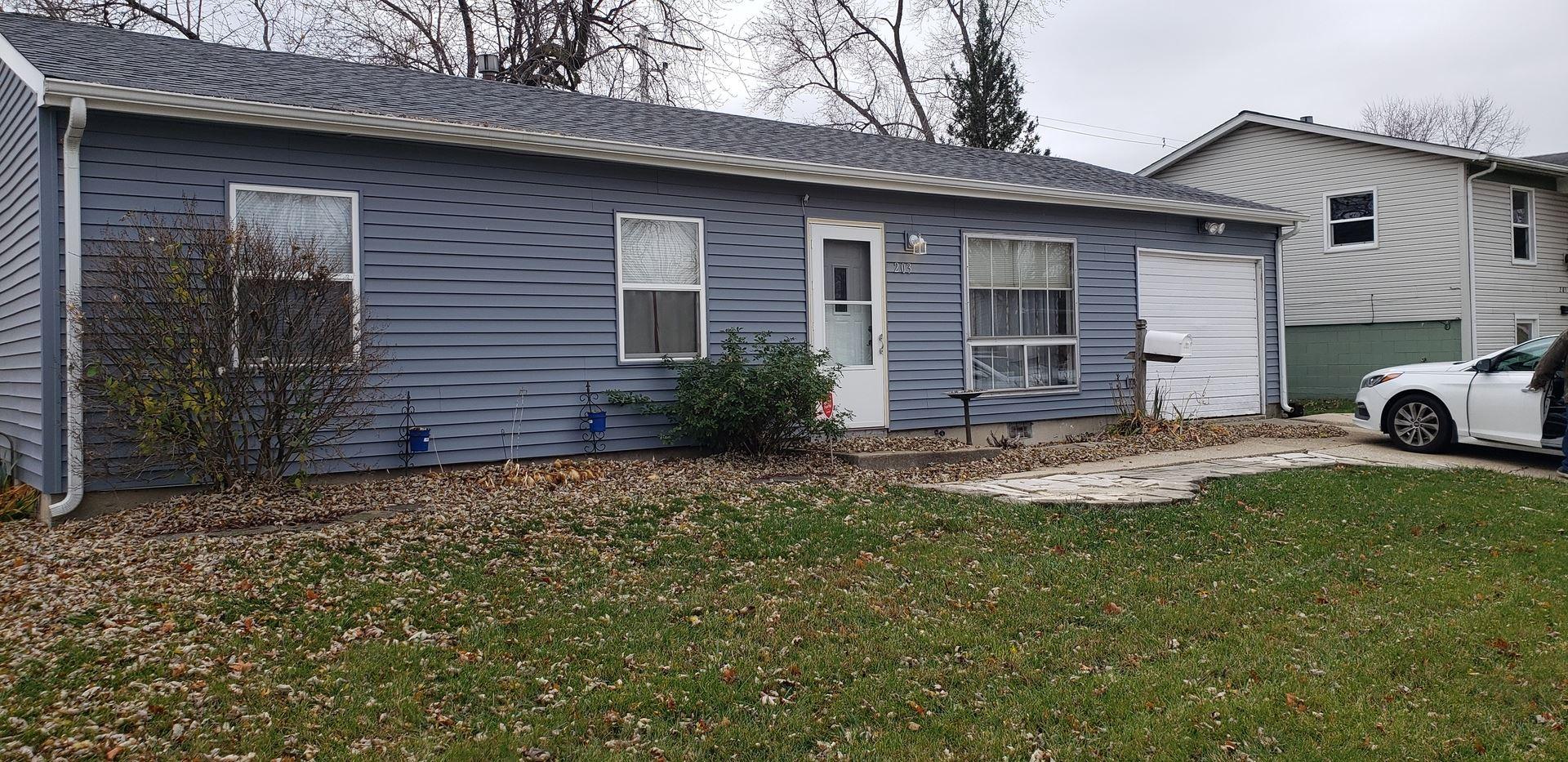 Photo of 203 Haller Avenue, Romeoville, IL 60446 (MLS # 10931604)