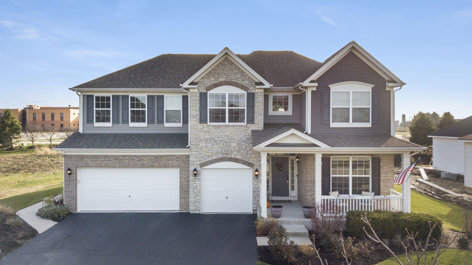 Photo of 361 Bloomfield Circle E, Oswego, IL 60543 (MLS # 10942612)