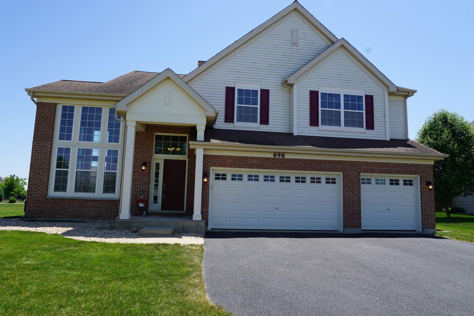 898 Parkside Lane, Yorkville, IL 60560 - #: 10653619