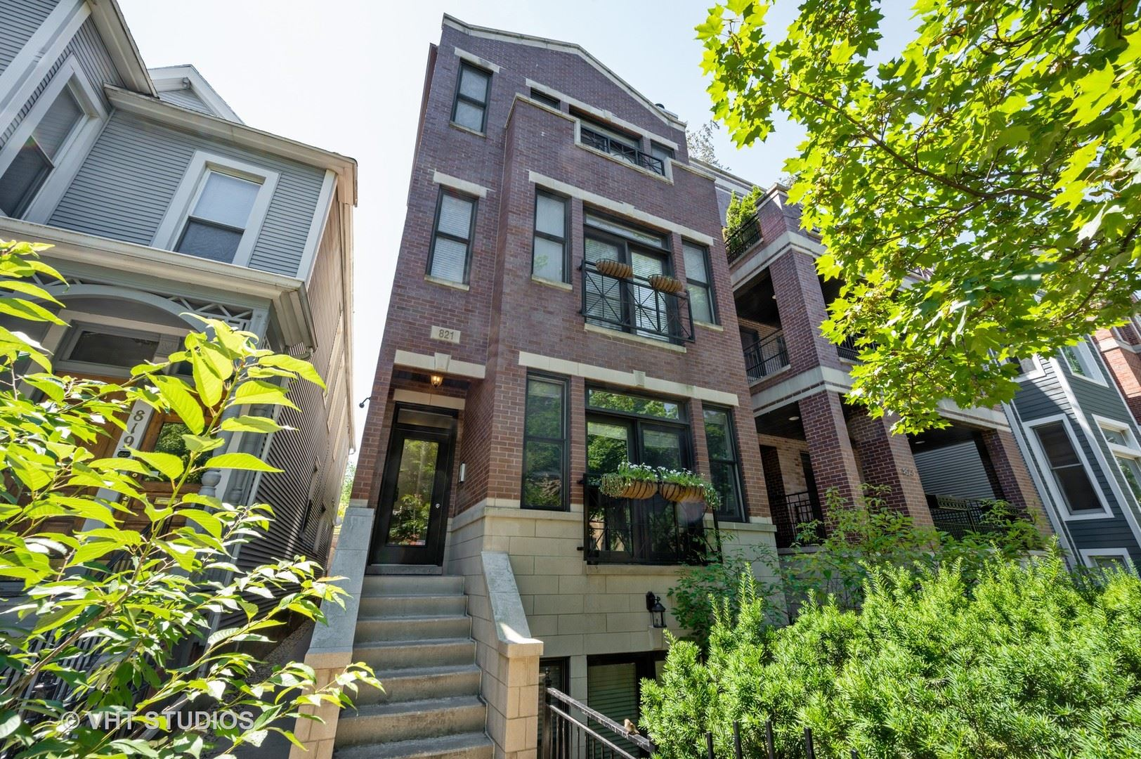 821 W Wrightwood Avenue #3, Chicago, IL 60614 - MLS#: 10783627
