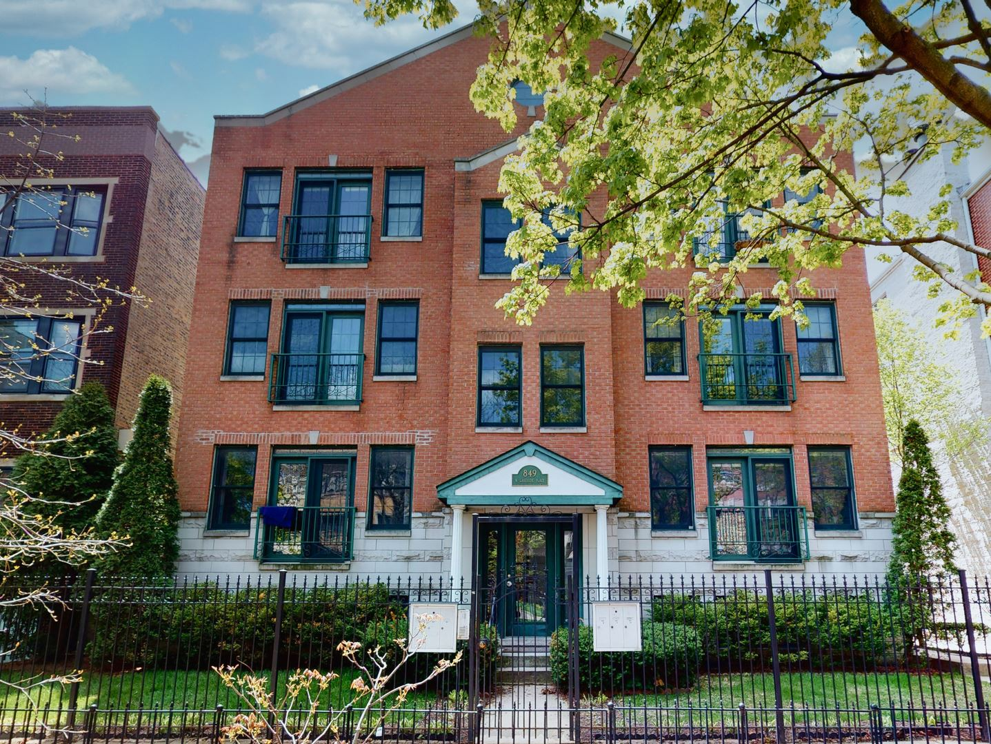 849 W LAKESIDE Place #3W, Chicago, IL 60640 - #: 10717629