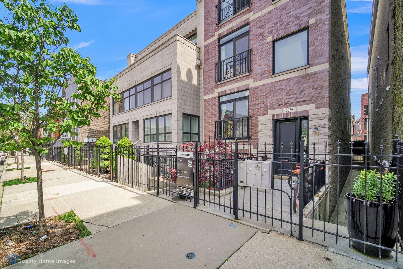 1319 N BOSWORTH Avenue #1, Chicago, IL 60642 - #: 10717633