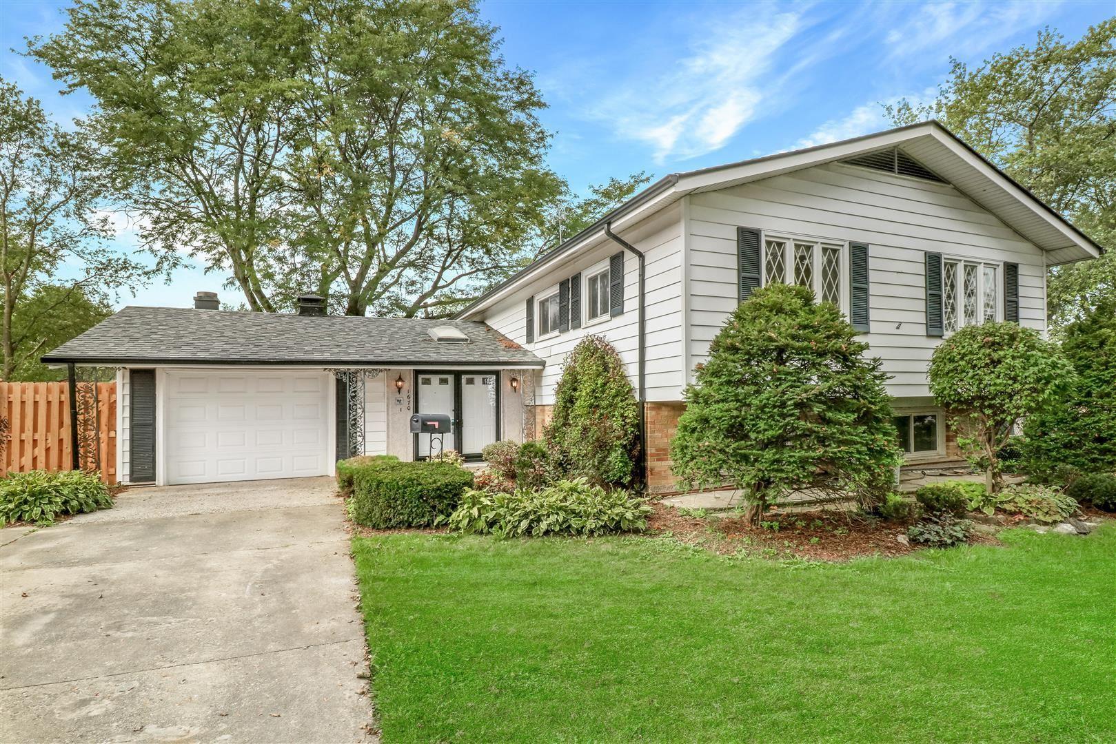 1670 Hartford Court, Hoffman Estates, IL 60169 - #: 10891645