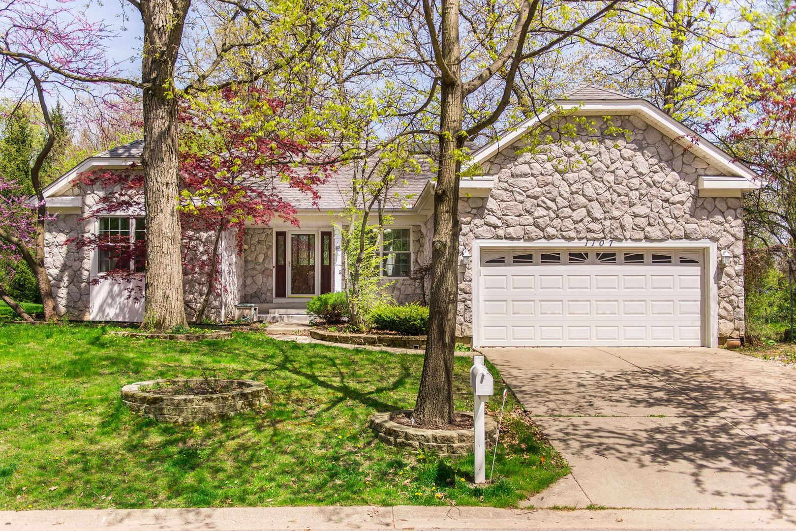 1107 Oak Ridge Drive, Streamwood, IL 60107 - #: 10714649