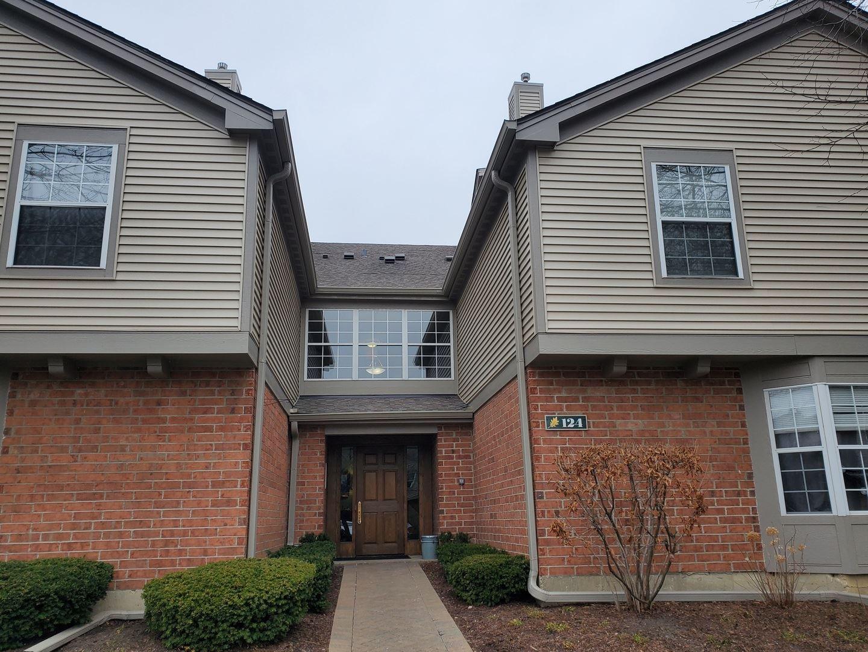 124 White Oak Court #4, Schaumburg, IL 60195 - #: 11033652