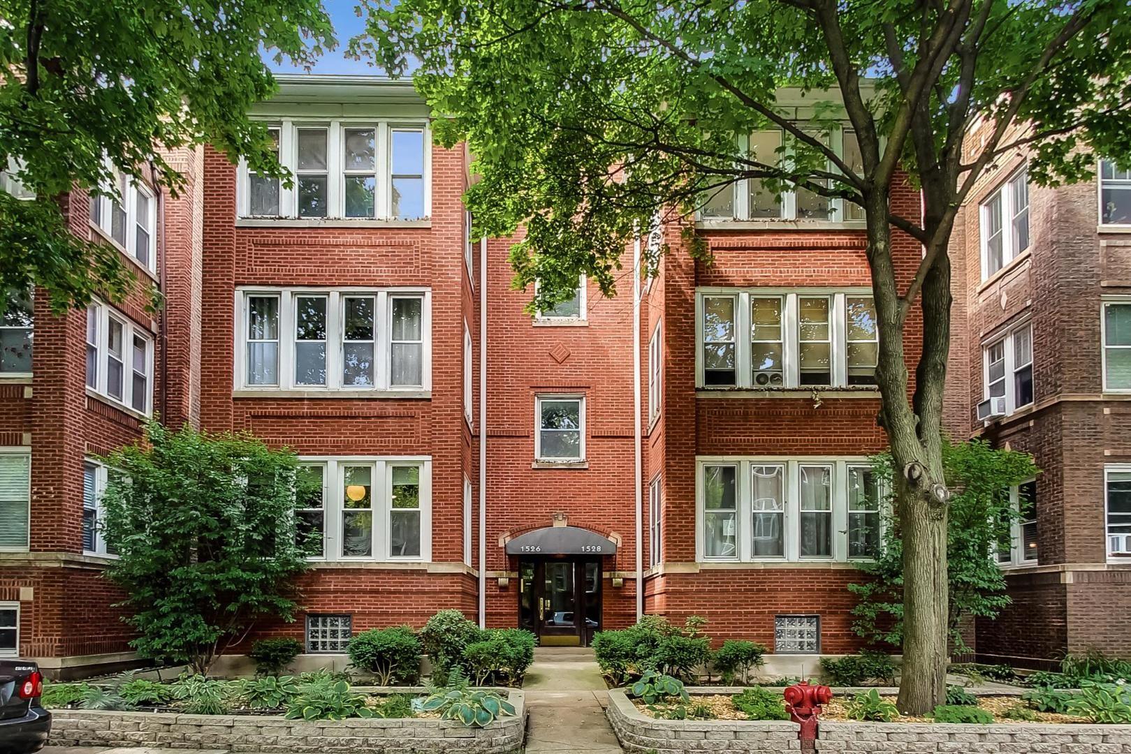 1528 W Rosemont Avenue #1W, Chicago, IL 60660 - #: 10773660