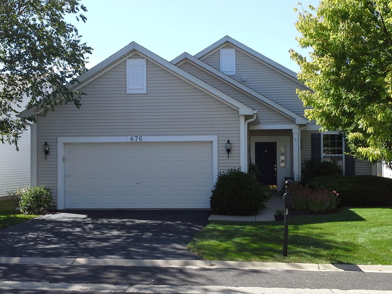 676 S Wellston Lane, Romeoville, IL 60446 - #: 10702665