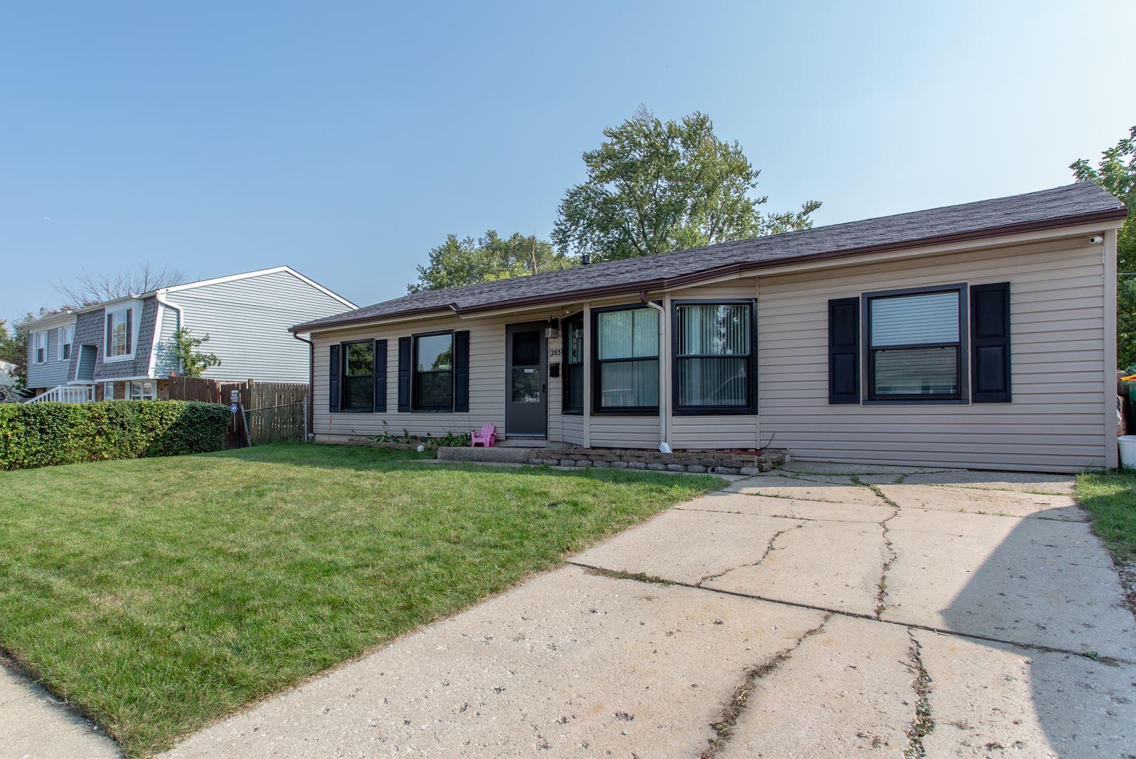 Photo of 203 Murphy Drive, Romeoville, IL 60446 (MLS # 10926666)