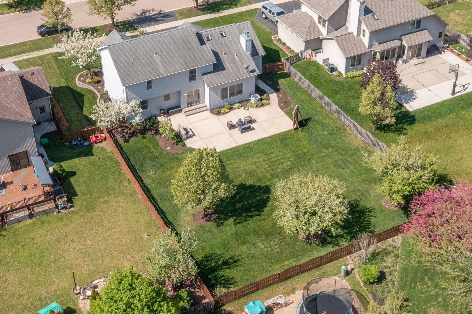 Photo of 317 Morgan Valley Drive, Oswego, IL 60543 (MLS # 11080681)