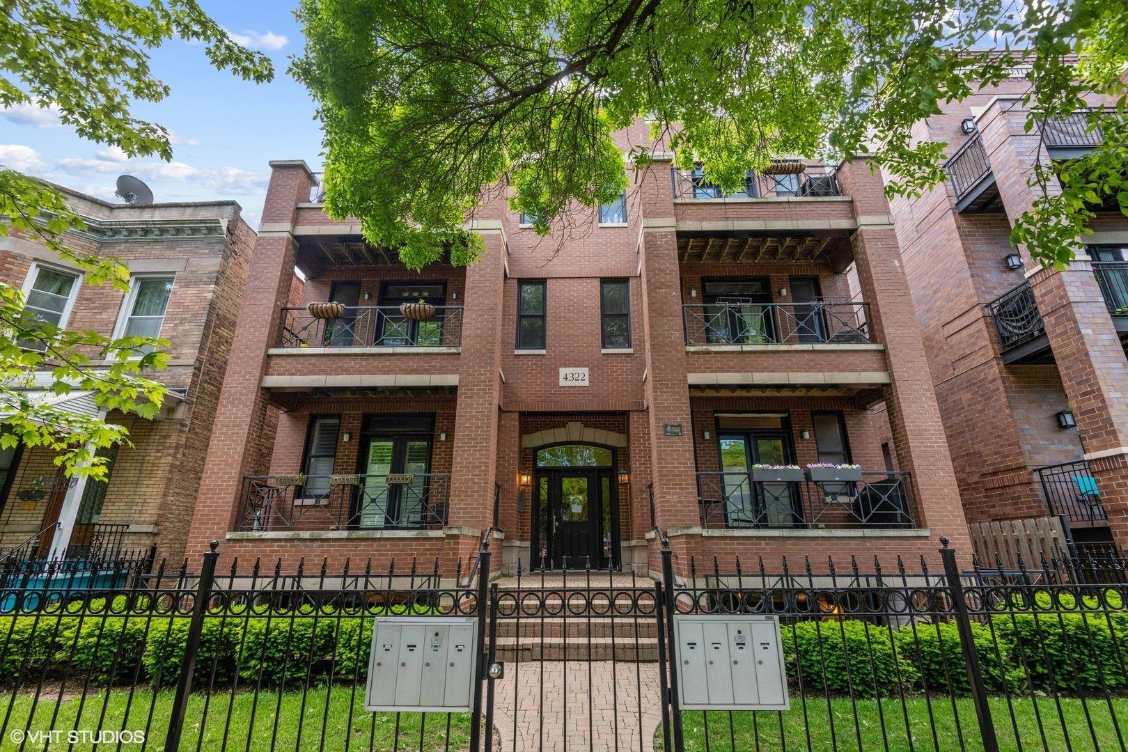4322 N ASHLAND Avenue #1S, Chicago, IL 60613 - #: 10701682