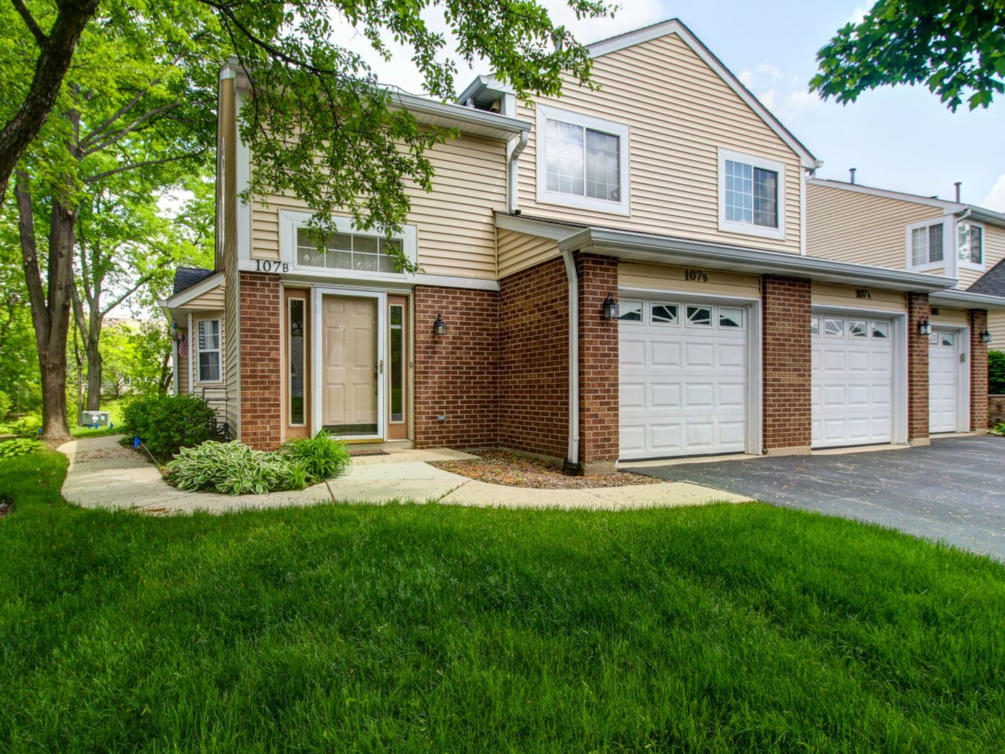 107 Winchester Drive #1B-2, Streamwood, IL 60107 - #: 10729687