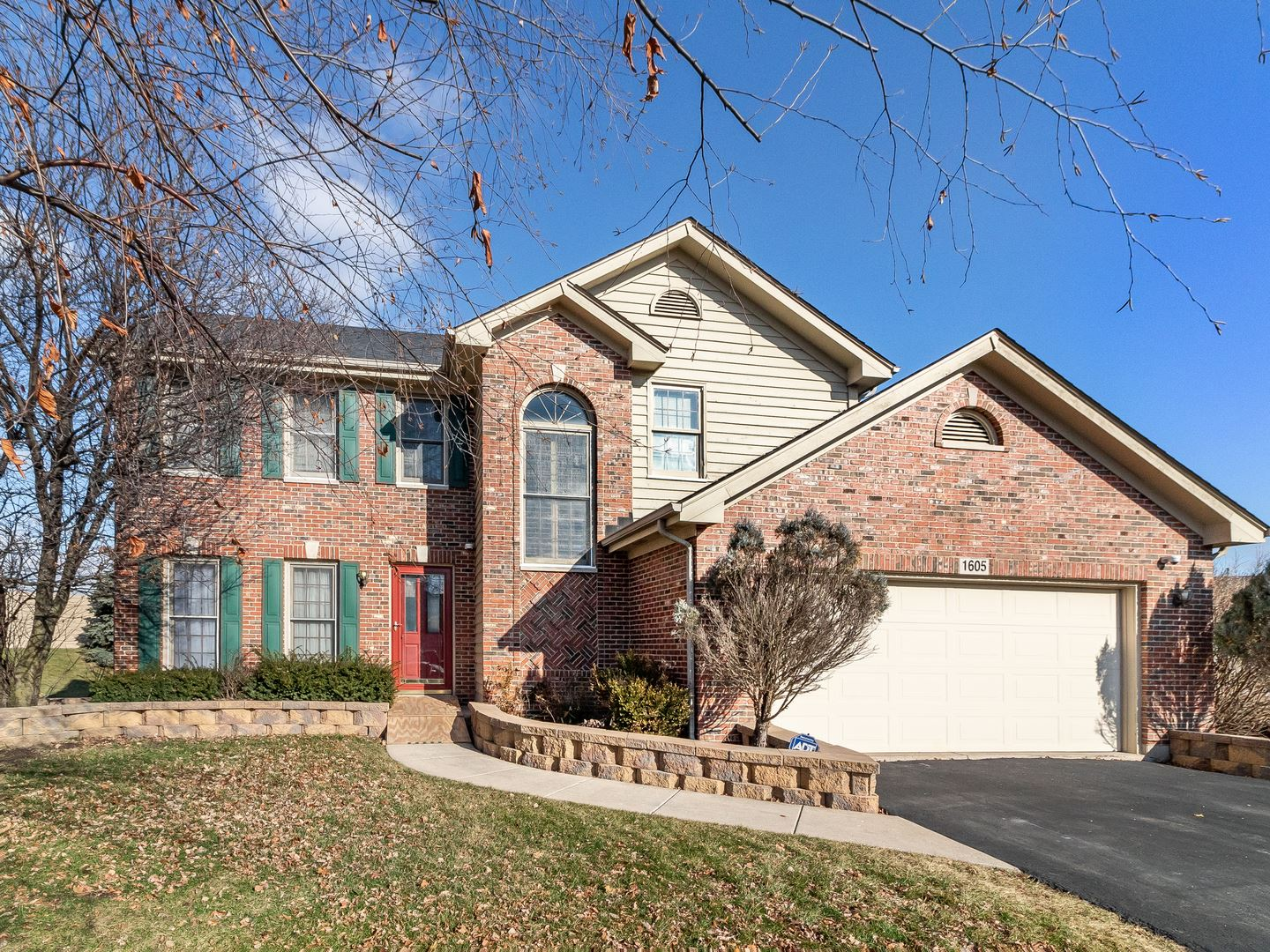 1605 Cottonwood Trail, Yorkville, IL 60560 - #: 10605689