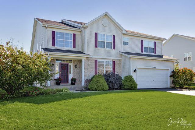 289 W Arden Lane, Round Lake, IL 60073 - #: 10653703