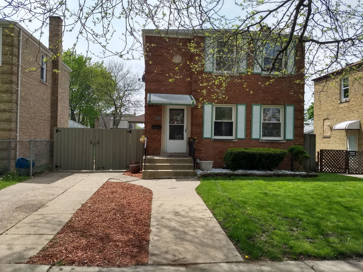 3244 N Octavia Avenue, Chicago, IL 60634 - #: 10719715
