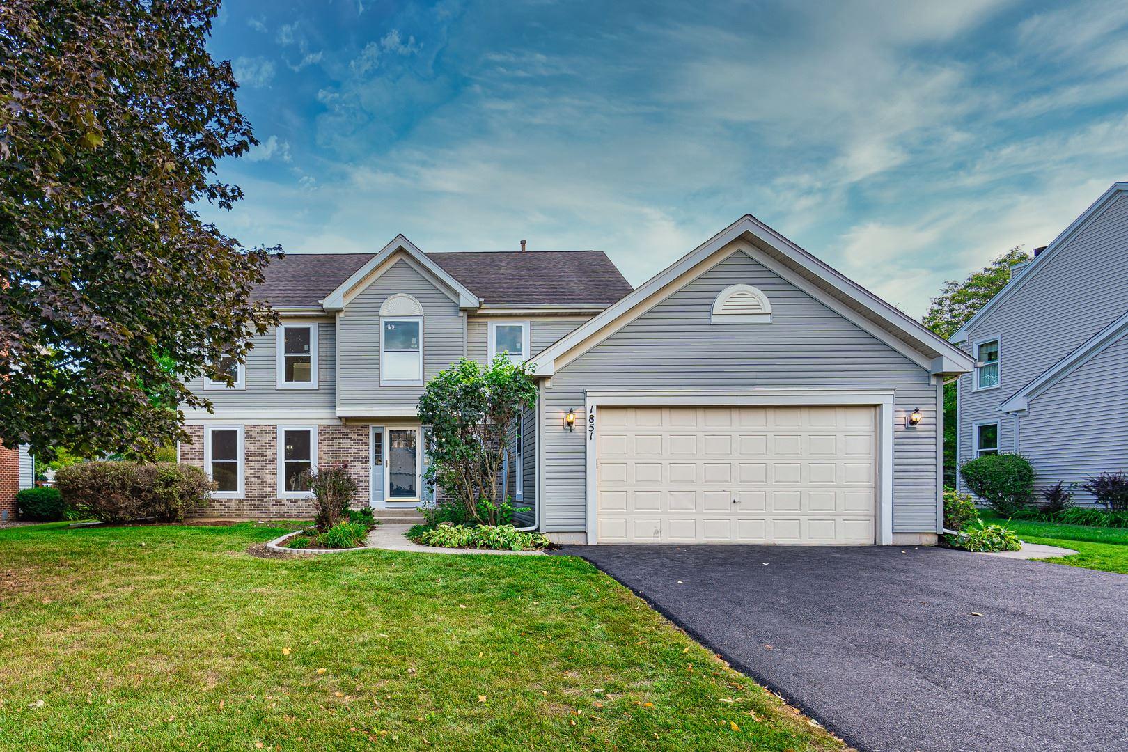 1851 Arbordale Lane, Algonquin, IL 60102 - #: 11230724