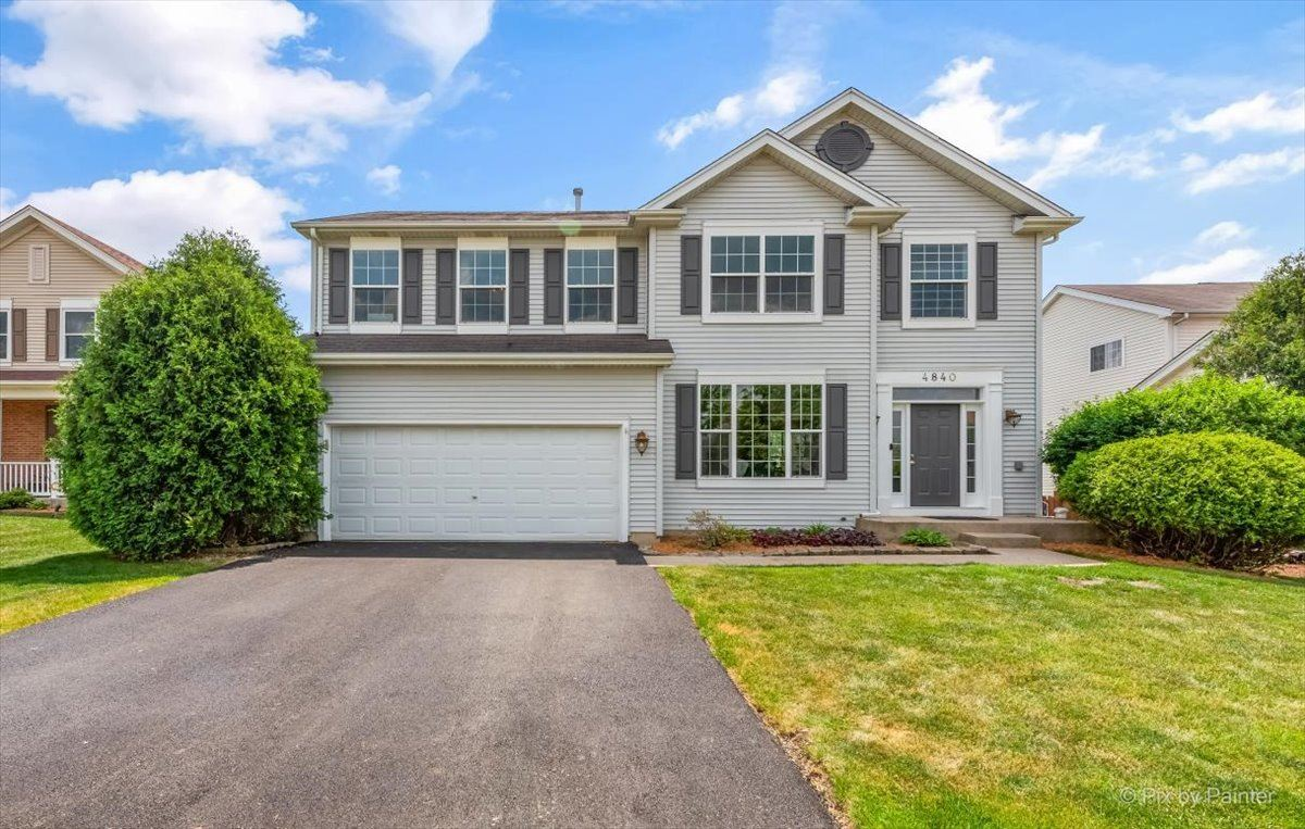 4840 Thistle Lane, Lake in the Hills, IL 60156 - #: 11100729
