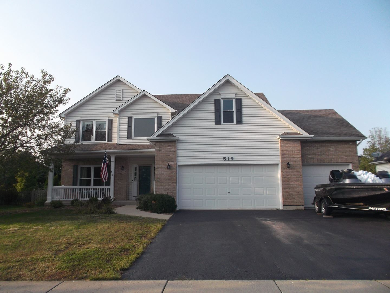 Photo of 519 Chestnut Drive, Oswego, IL 60543 (MLS # 10862733)