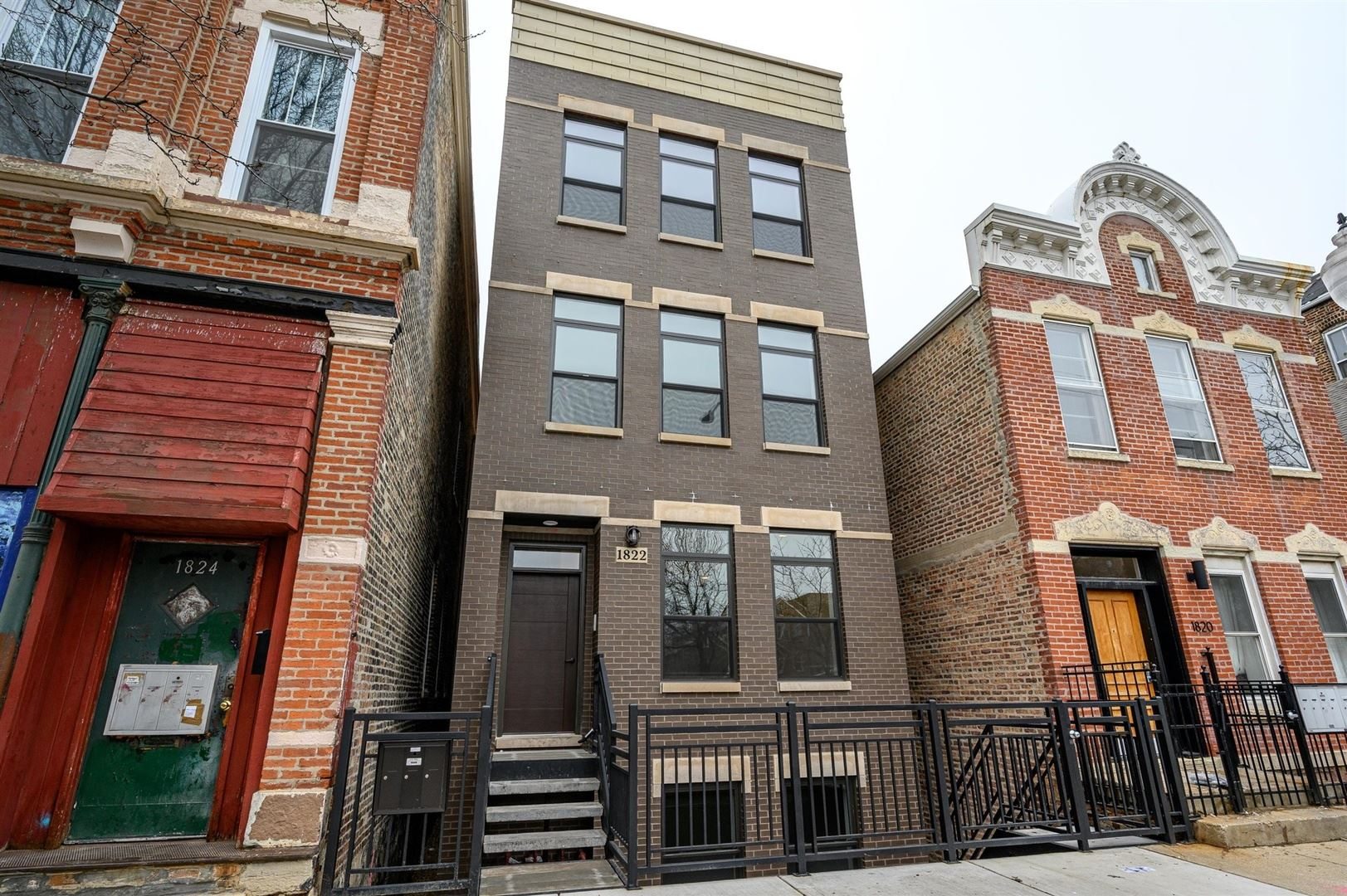 1822 S Throop Street #1, Chicago, IL 60608 - #: 10783734