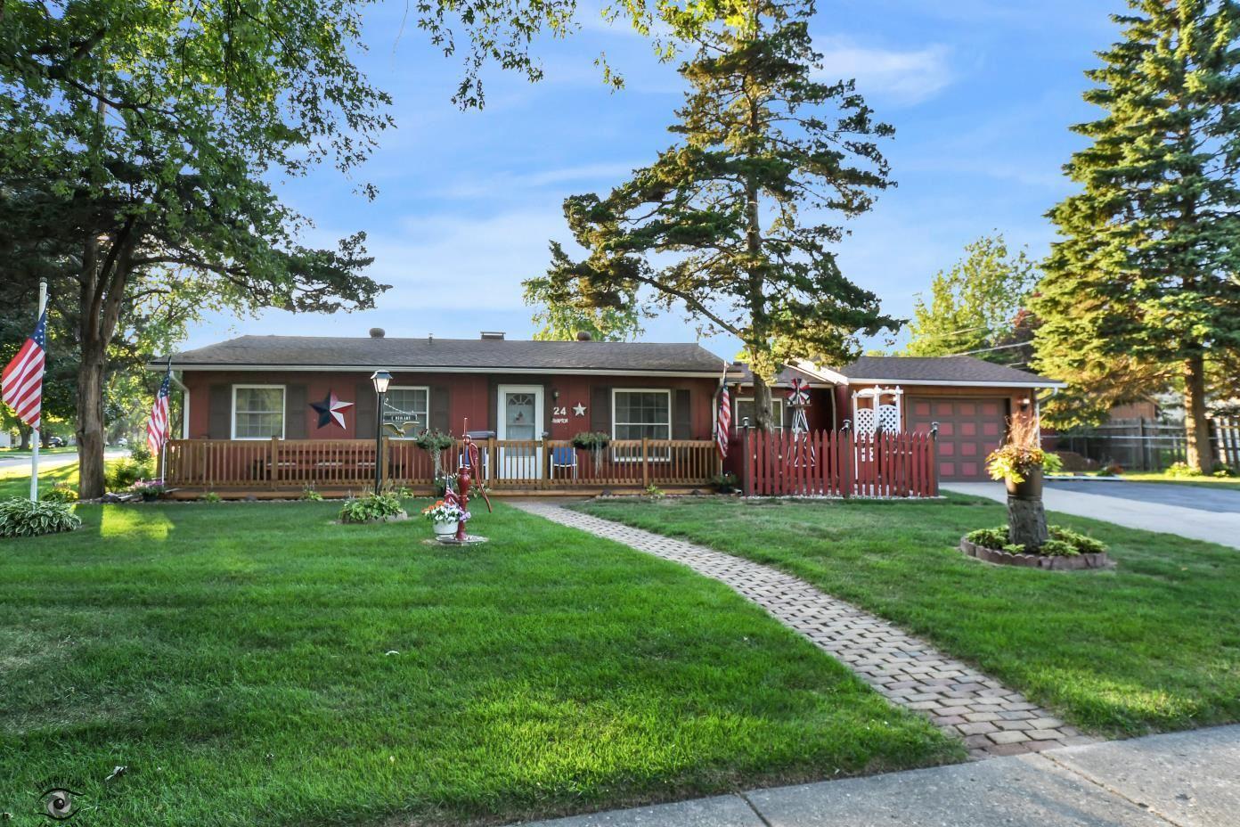 24 Hampton Road, Montgomery, IL 60538 - #: 10786736