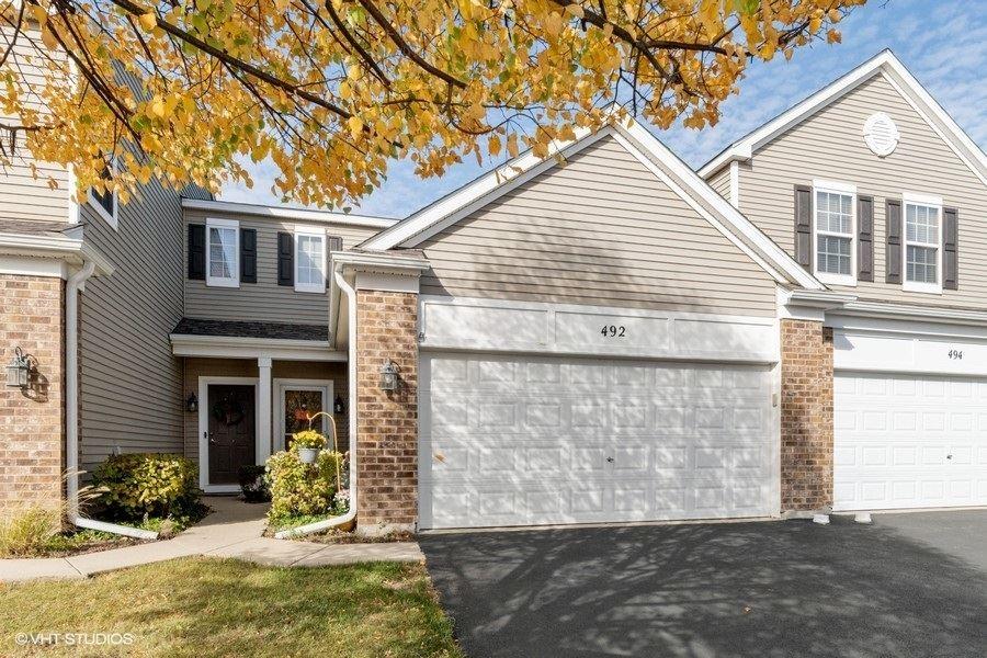 Photo of 492 Brookside Drive #492, Oswego, IL 60543 (MLS # 10906738)
