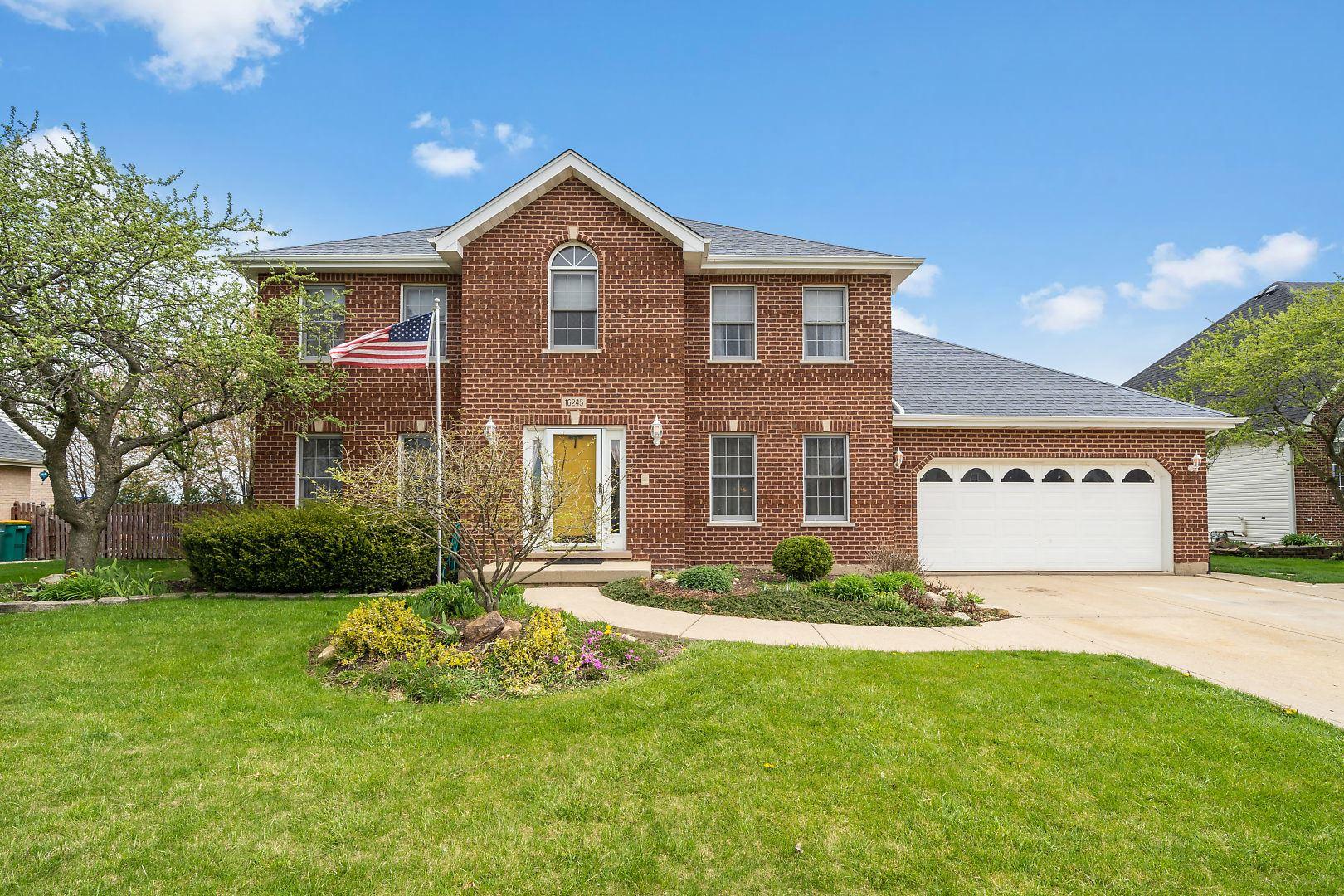 16245 Burgundy Drive, Plainfield, IL 60586 - #: 10697743