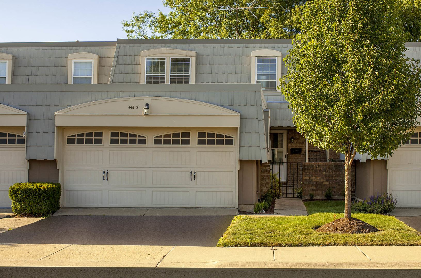 646 Dauphine Court #F, Elk Grove Village, IL 60007 - #: 10802747