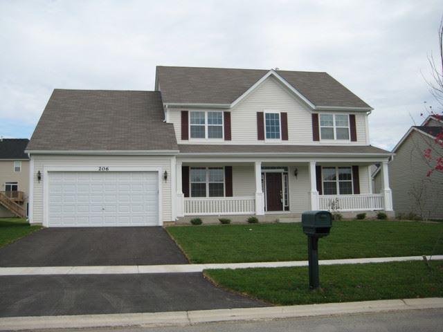 206 WOODFORD Road, Oswego, IL 60543 - #: 10628761