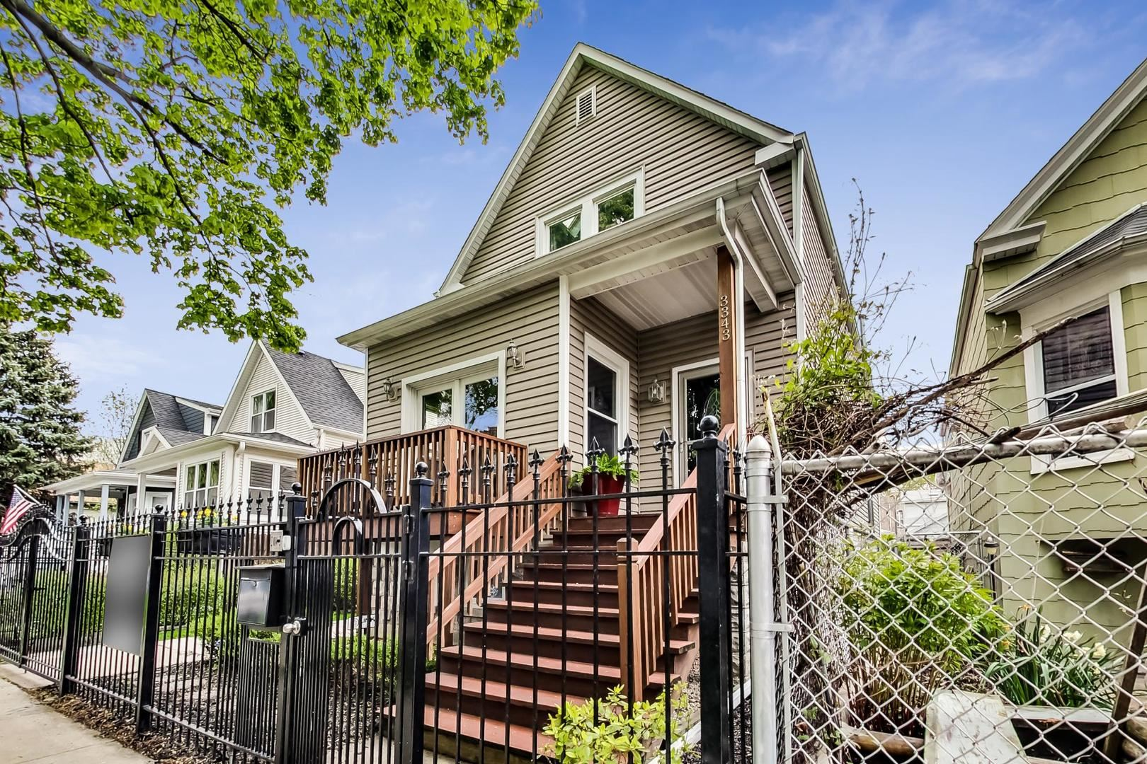 3343 W Hutchinson Street, Chicago, IL 60618 - #: 10707765
