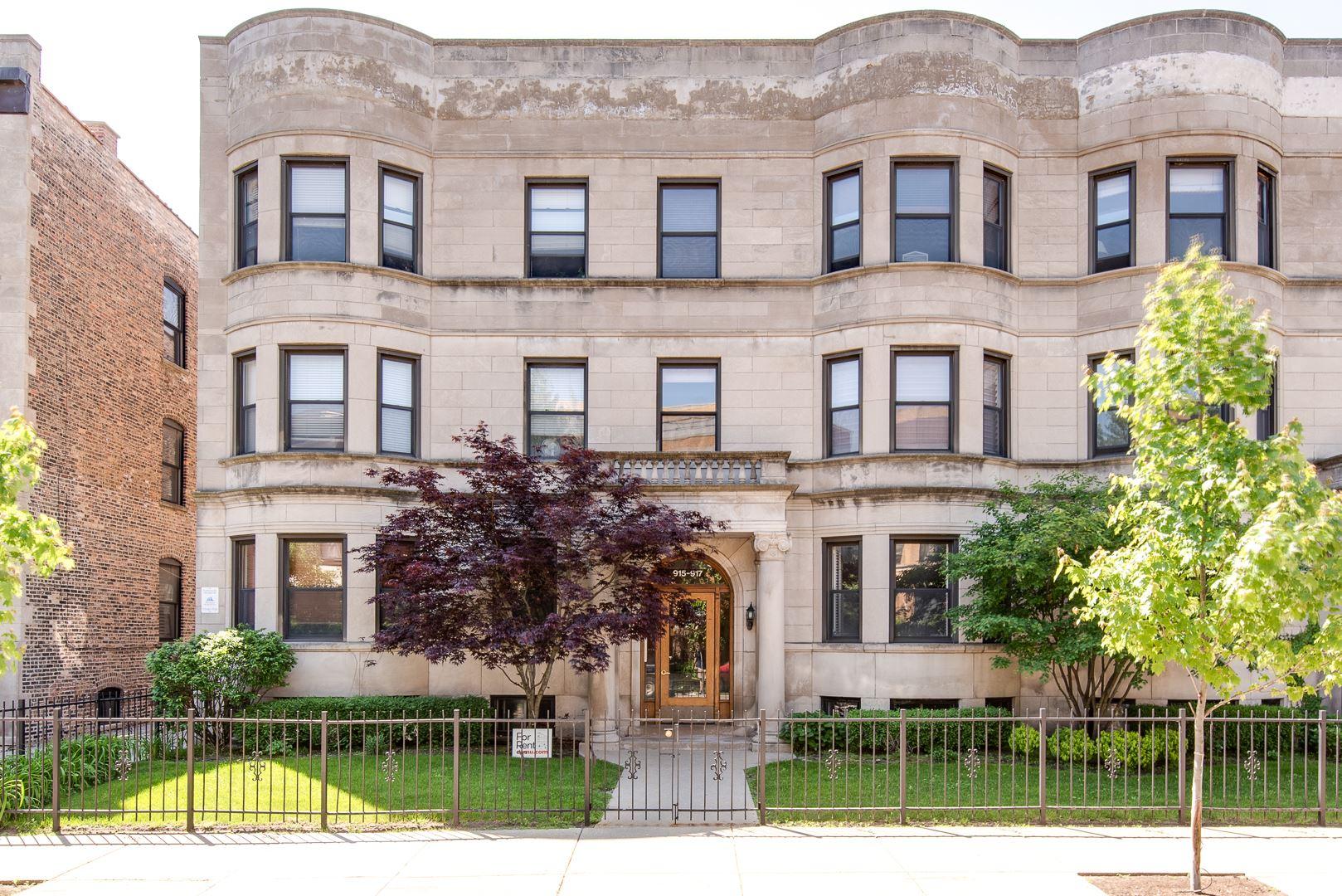917 W BELLE PLAINE Avenue #G, Chicago, IL 60613 - #: 10720765