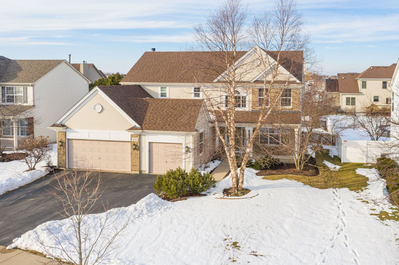 Photo of 245 Morgan Valley Drive, Oswego, IL 60543 (MLS # 11005775)