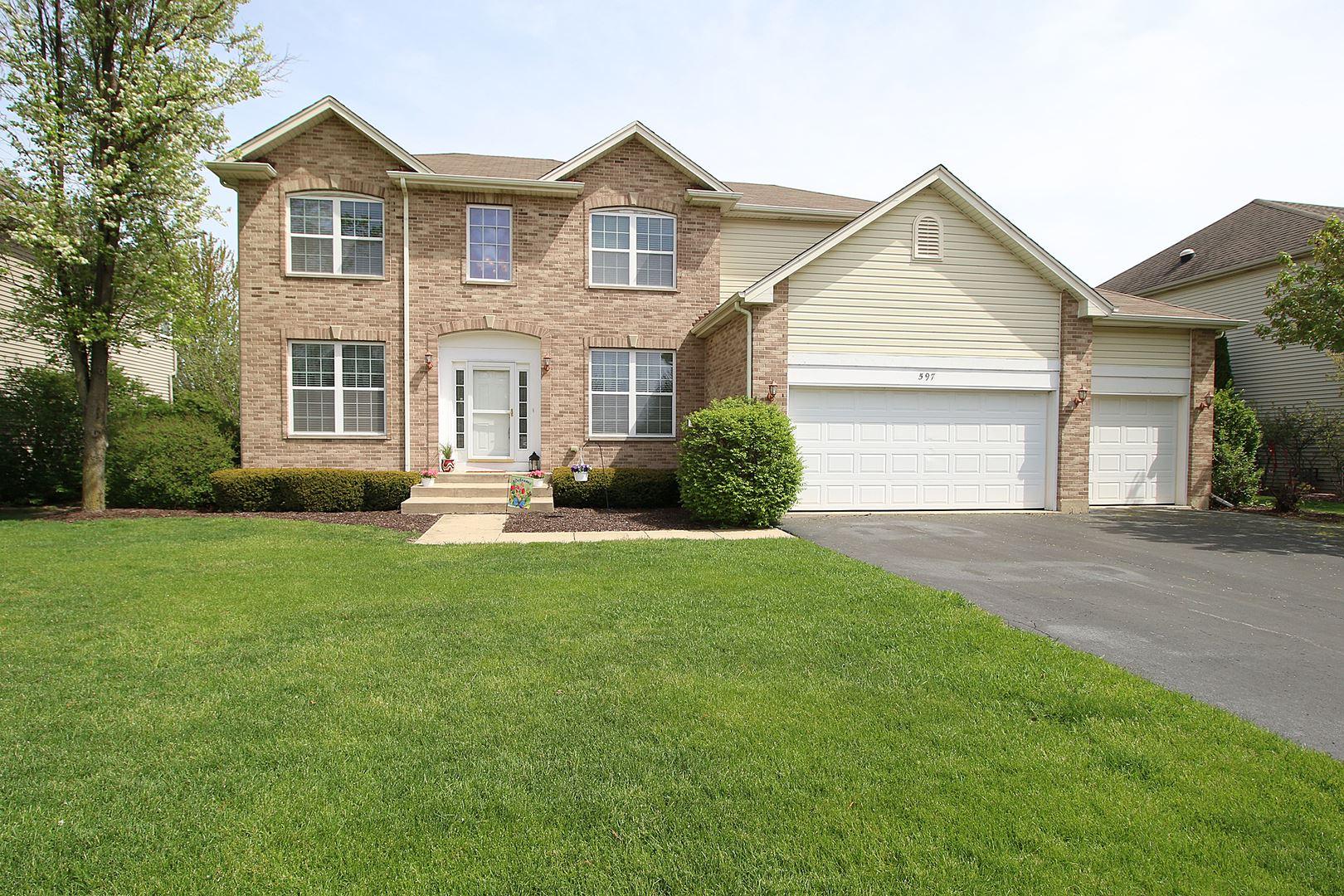 597 Arrowhead Drive, Yorkville, IL 60560 - #: 10706783