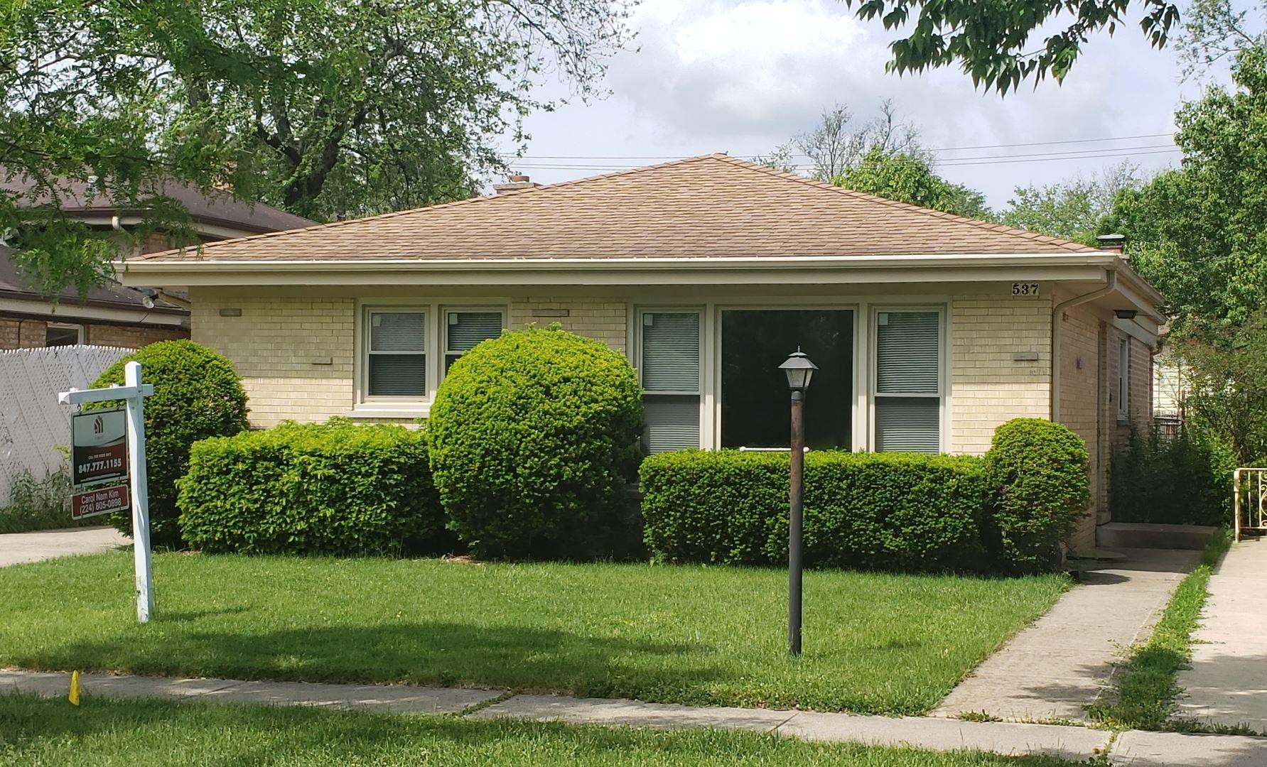537 Lavergne Avenue, Wilmette, IL 60091 - #: 10641790