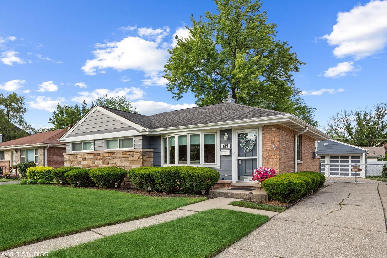 419 N Ridgeland Avenue, Elmhurst, IL 60126 - #: 11119791