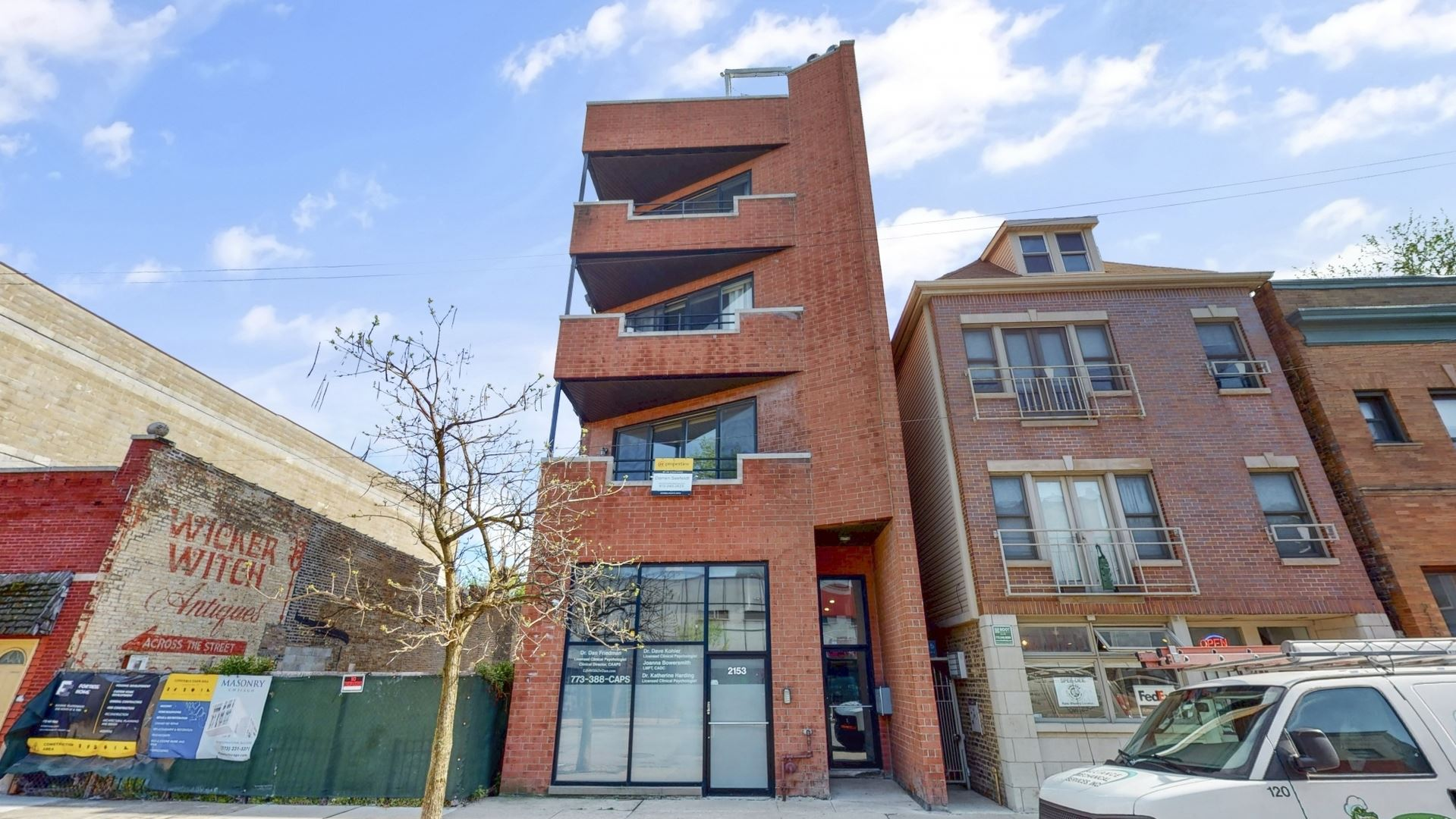 2153 W Belmont Avenue #4, Chicago, IL 60618 - #: 10722802