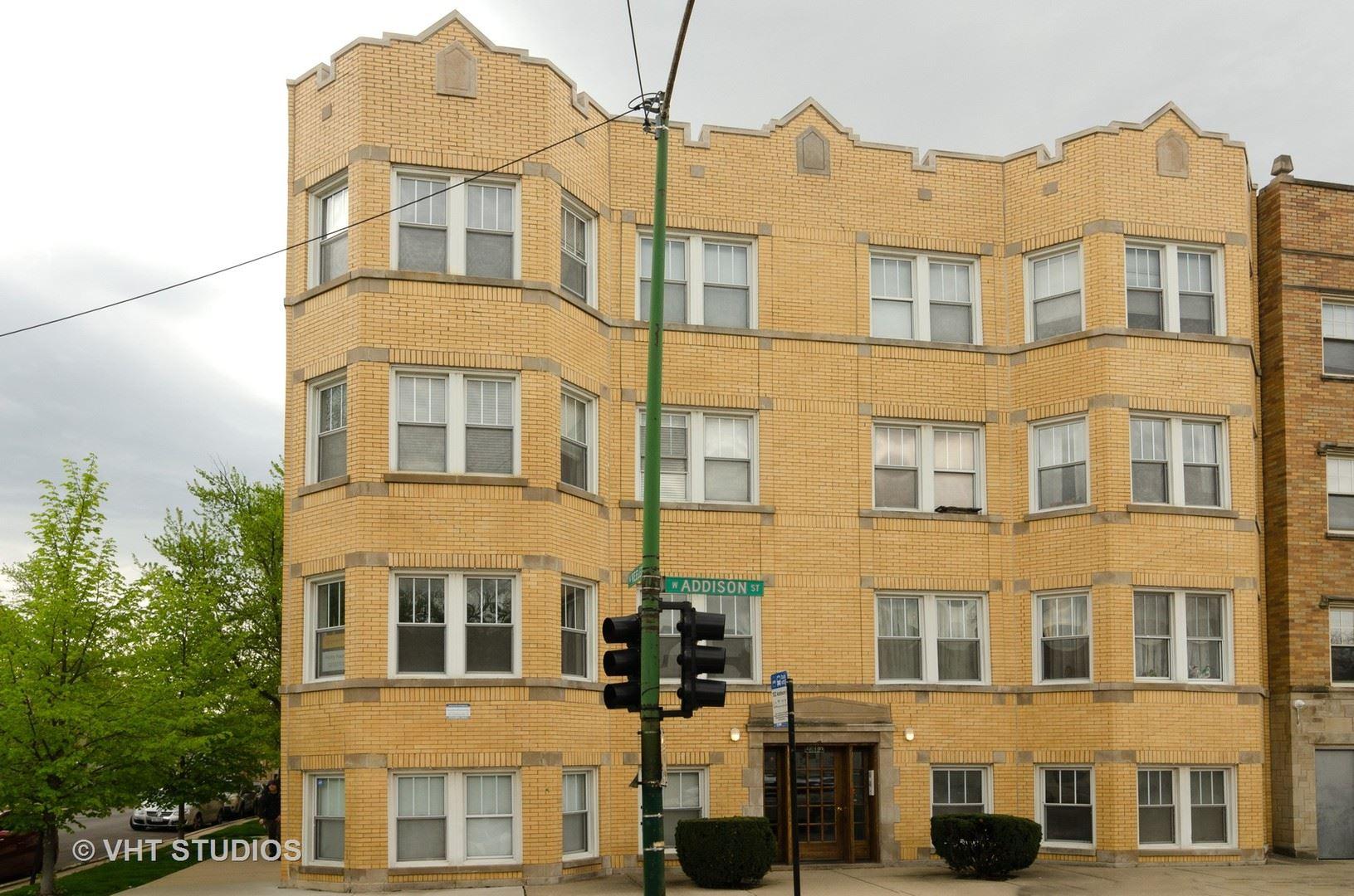 4201 W Addison Street #3A, Chicago, IL 60641 - #: 10796837