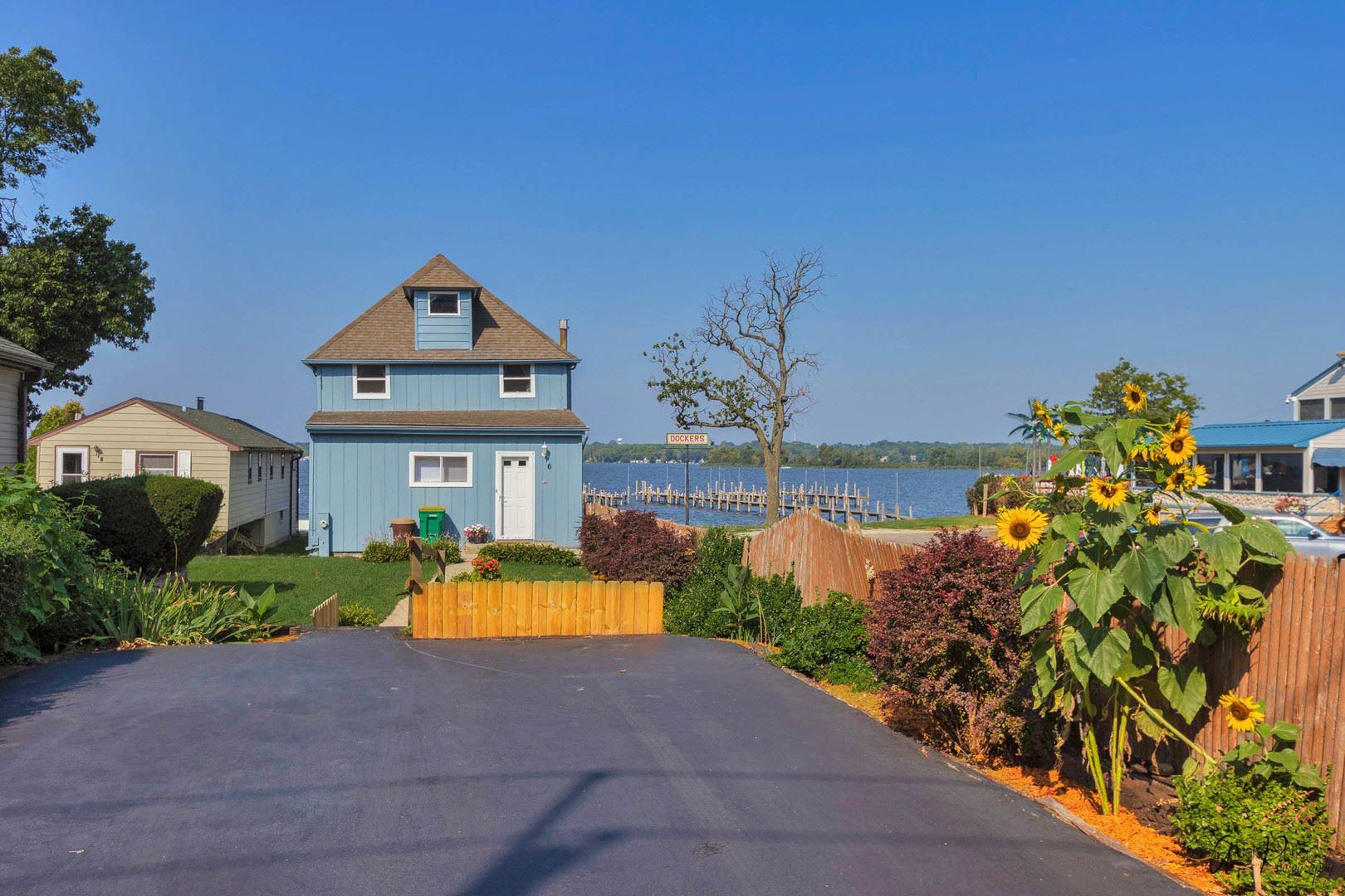 6 S Pistakee Lake Road, Fox Lake, IL 60020 - #: 11203839