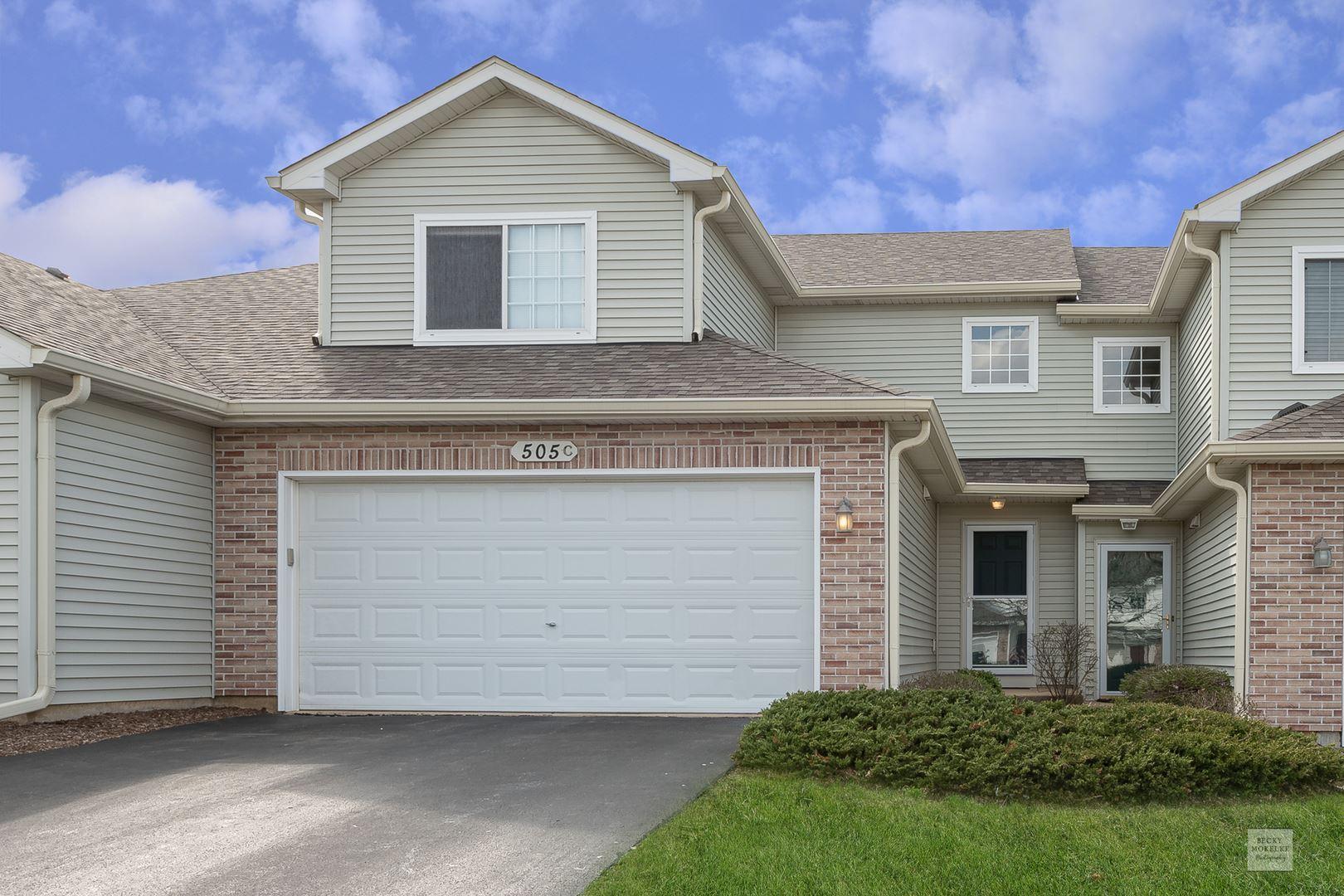 505 Glen Drive #C, Sugar Grove, IL 60554 - #: 10687843