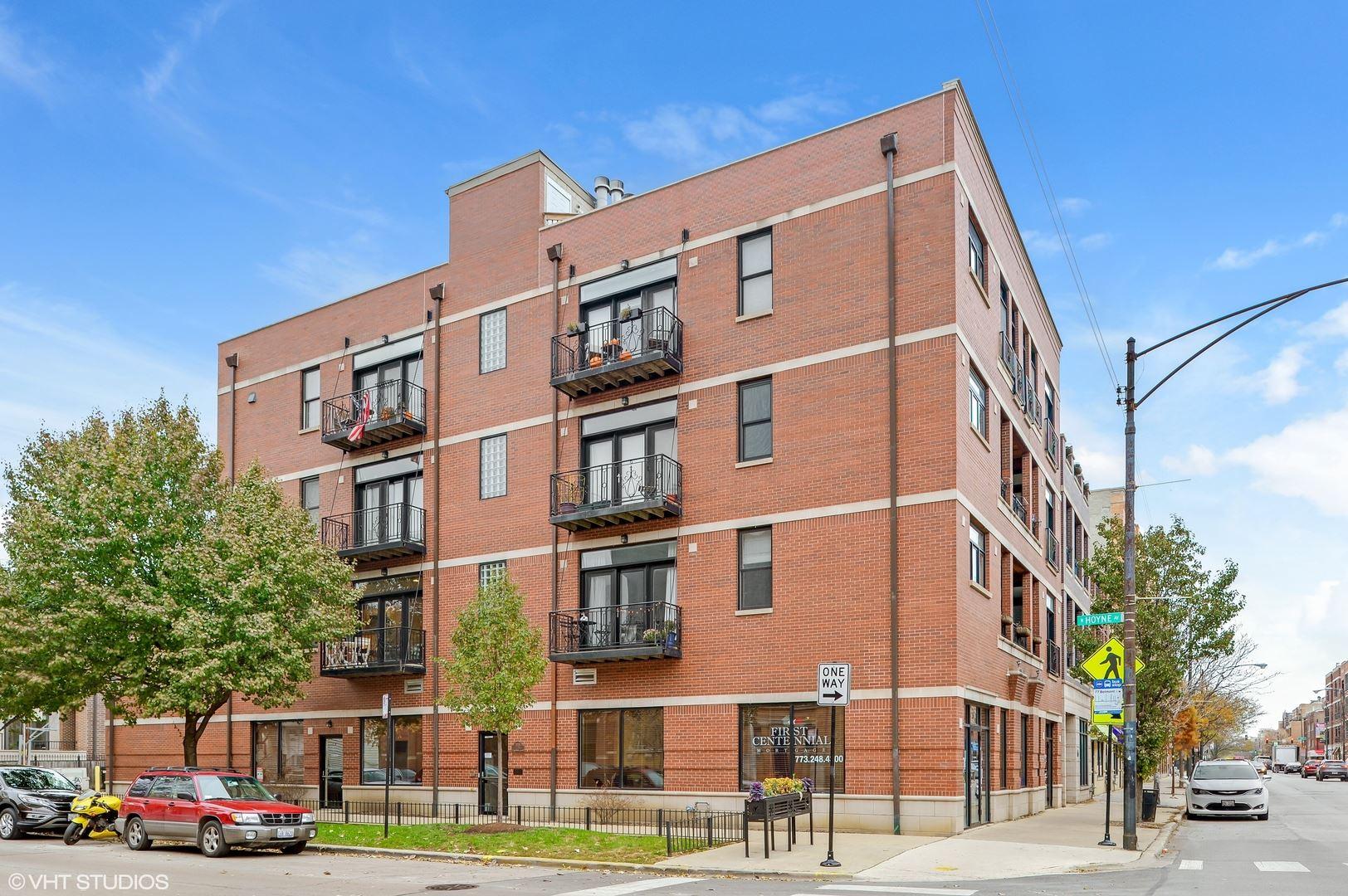 3205 N Hoyne Avenue #3B, Chicago, IL 60618 - #: 10805848