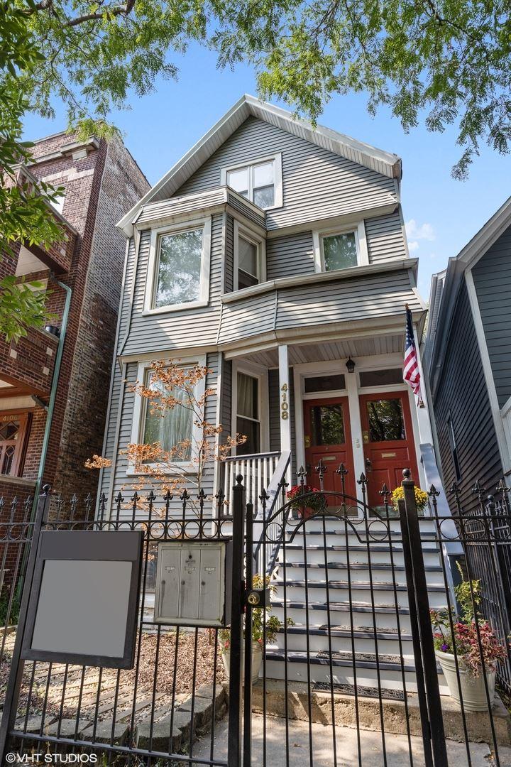 4108 N Damen Avenue, Chicago, IL 60618 - #: 11214852