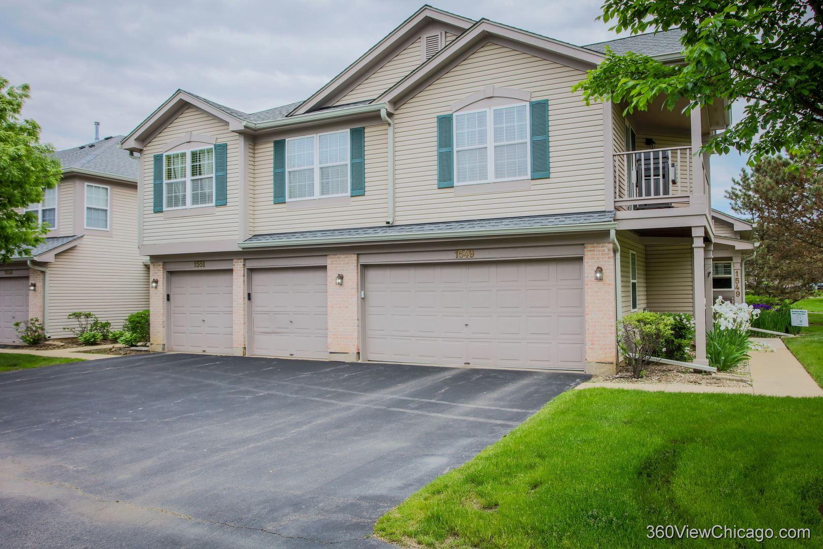 1553 Auburn Lane #1553, Gurnee, IL 60031 - #: 10799867