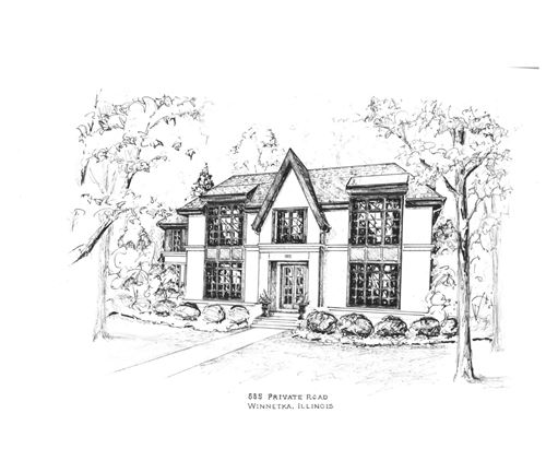 Tiny photo for 885 Private Road, Winnetka, IL 60093 (MLS # 10838874)