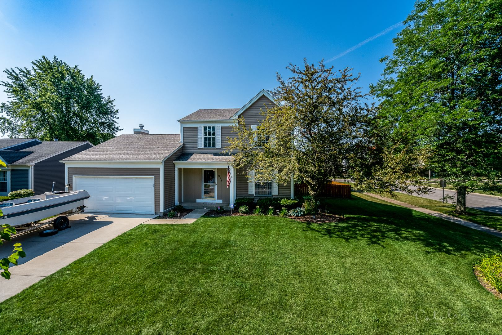 878 ROYAL GLEN Lane, Carol Stream, IL 60188 - #: 10774887