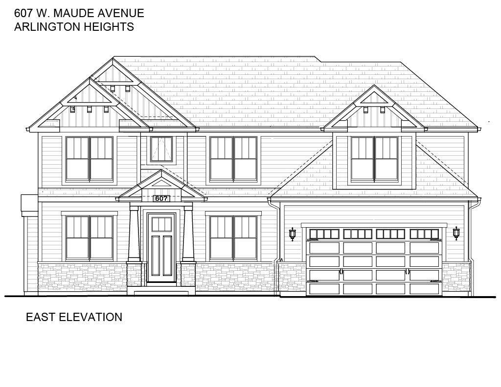 607 W Maude Avenue, Arlington Heights, IL 60004 - #: 11044895