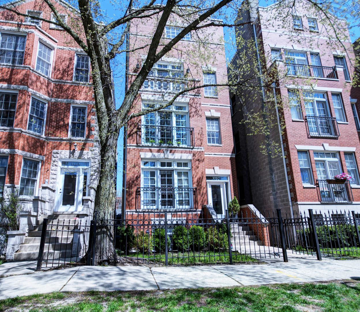 3757 N Clifton Avenue #3, Chicago, IL 60613 - #: 10599919